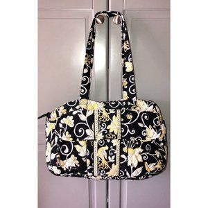VERA BRADLEY Yellow Bird Diaper Bag Tote